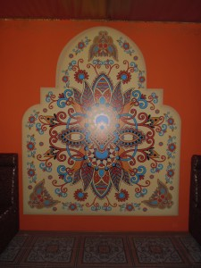 Изготовление и монтаж баннера для кафе «Чайхана» в г.Чебоксары